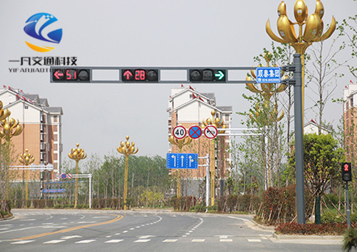 交通信号灯杆